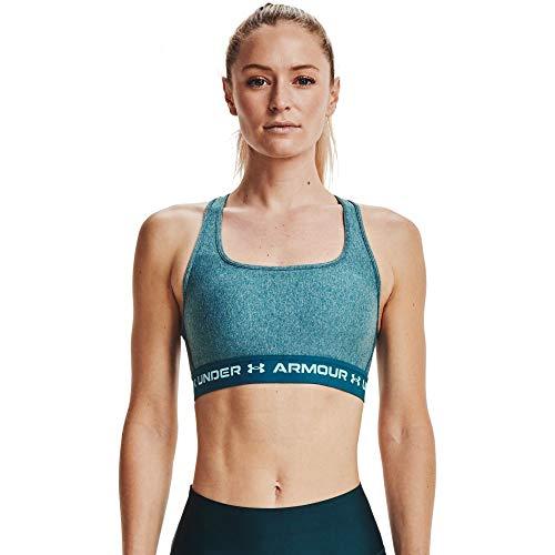 Bra Deportivo Under Armour UA Crossback Mid Heather Bra De Entrenamiento Para Mujer,MD