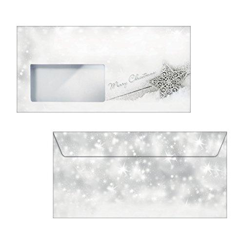 SIGEL DS054 biglietti di Natale effetto legno, 10 pezzos