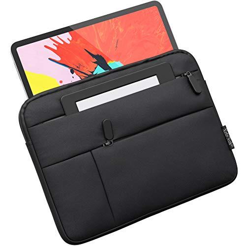 XeloTech Tasche kompatibel mit 9-11 Zoll Tablets wie iPad 10.2, iPad Pro 11, 9.7, iPad Air 10.5,- Microsoft Surface Go 10