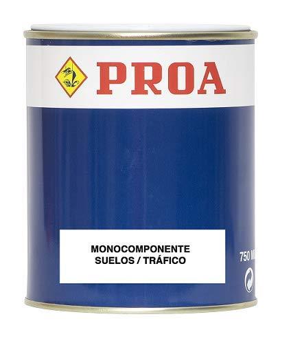 Pintura monocomponente para suelos y garajes. Exterior-Interior. PROA.