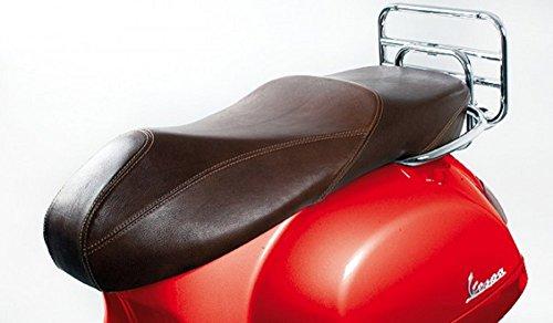Vespa–Piel Asiento banco para roller GTS marrón