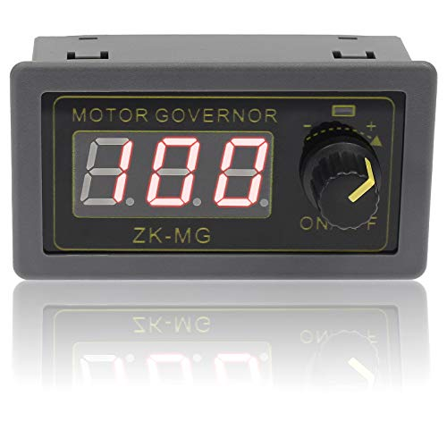 Cionyce PWM DC Motor Speed Controller Switch DC 5V 12V 24V 5-15A 150W, Adjustable Stepless Speed Regulator Switch PWM Signal Generator Driver Module with Digital Display