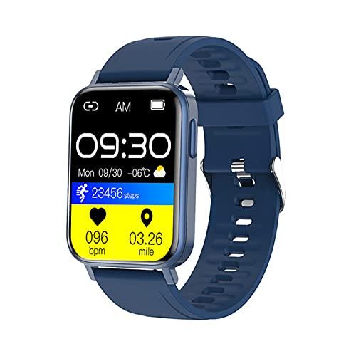 QKA New Pro Smart Watch, Reloj De Relojes para Hombres De Moda, Pulsera Inteligente, Pantalla TFT HD De 1.65 Pulgadas, Smartwatch De Deportes De Fitness, Adecuado para Android iOS,D