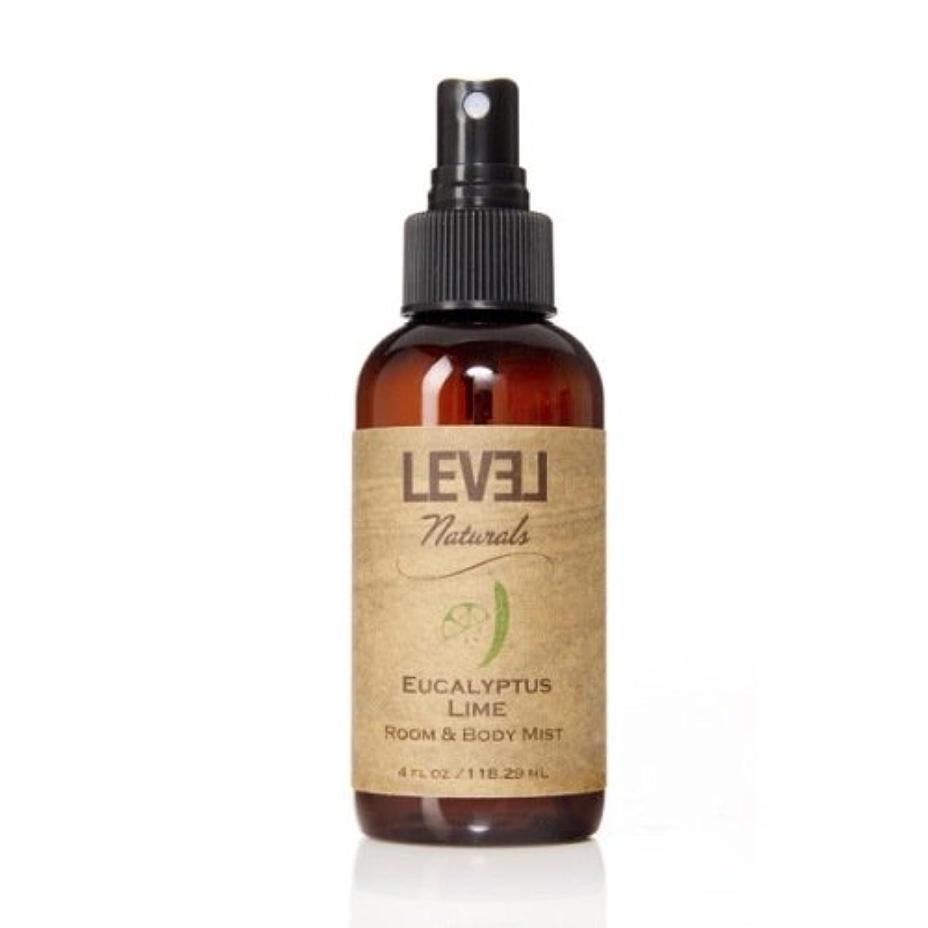 対立規制悲しむLEVEL Naturals レベルナチュラルズ ルーム&ボディミスト ユーカリプタスライム Eucalyptus Lime Room Body Mist