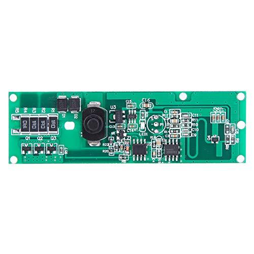 Módulo controlador de lámpara solar, módulo controlador de lámpara solar Placa de circuito Inducción de radar de microondas con interruptor 3,2 V / 3,7 V, flexible para operar