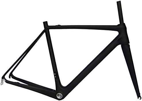 Large-scale sale Full Carbon UD Tucson Mall Matt 700c Road BB30 Frame Fork Cycling Bike