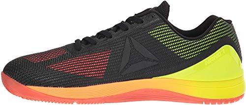 Reebok Men's CROSSFIT Nano 7.0 Cross-Trainer Shoe, Vitamin C/Solar Yellow/Black, 8 M US