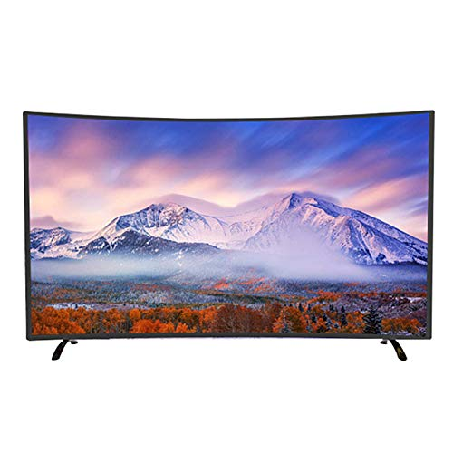 Household items Gekrümmter Fernseher 4K-HD-LED-LCD-Fernseher, gekrümmter Fernseher WiF Bluetooth Smart TV, 32-Zoll-42-Zoll-50-Zoll-Low-Power-Fernseher