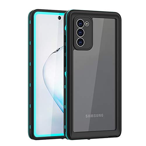 Funda para Galaxy Note 20/Note 20 Ultra, IP68 Certificado Sumergible Carcasa,Carcasa a Prueba de Caídas, Nieve,Golpes, Resistente al Agua,Funda Protectora de Cuerpo Completo,Blue,Note 20