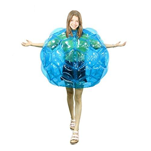GUGUTOGO Aufblasbare Körper-Bälle für Kinder, 61 cm