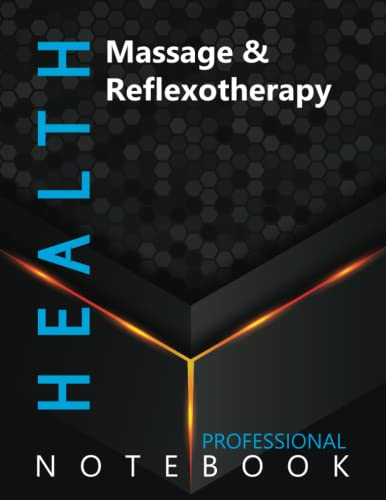 """Compare Textbook Prices for Health, Massage & Reflexotherapy Ruled Notebook, Professional Notebook, Writing Journal, Daily Notes, Large 8.5"""" x 11"""" size, 108 pages, Glossy cover  ISBN 9798499861134 by Pro Health  Cre8tive Press"""