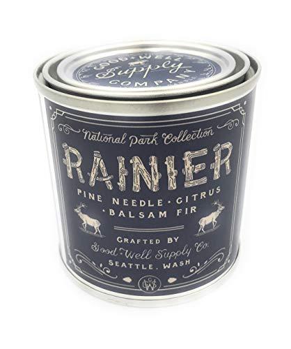 Good And Well Supply Co., Candle National Park Rainier, 8 Ounce