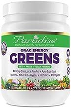 Paradise Herbs - ORAC Energy Greens - Keto + Paleo + Vegan Friendly Green Superfood - 12.8 Ounce 60 Servings