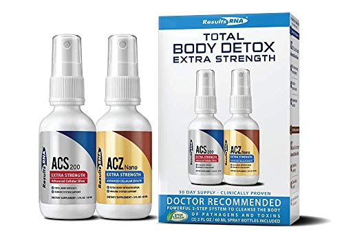 Results RNA Total Body Detox | Extra Strength Natural Detoxification for Optimal Health - 2 oz Bottle
