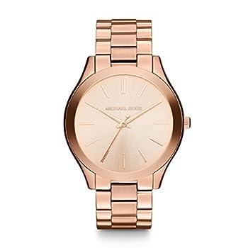 Michael Kors Women s Runway Rose Gold-Tone Watch MK3197