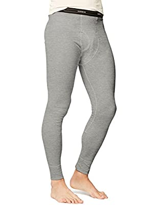 Hanes Men's Big Ultimate Thermal Pant, Heather Grey, XX-Large