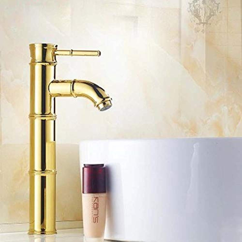 Bathroom Sink Basin Lever Mixer Tap Facebasin Faucet Head-Up Washbasin Faucet Hotel Face Basin Copper Bathroom