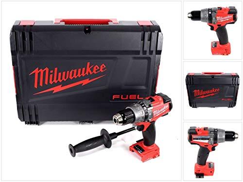 Milwaukee M18 ONEPD Akku Schlagbohrschrauber 18V 135 Nm Brushless Solo mit ONE-KEY Technologie + Koffer - ohne Zubehör