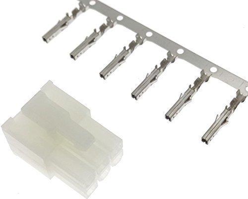 MOLEX stekker + contacten mannelijk 6-polig pin crimp Mini FIT reparatie adapter