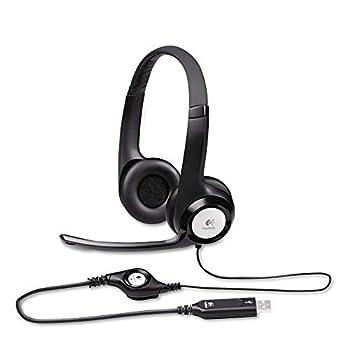 Logitech New logitech h390 USB Headset with noisecanceling Microphone Bulk Packaging 5.8 Ounce