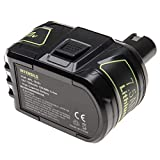 INTENSILO Batería recargable compatible con Ryobi P703, P704, P710, P711, P713, P715, P716, P718, P730 herramientas eléctricas (7500 mAh Li-Ion 18 V)