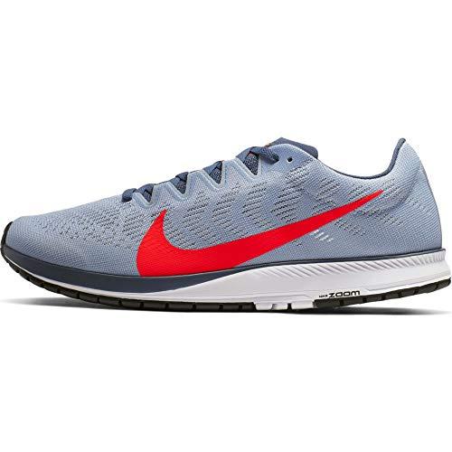 Nike Air Zoom Streak 7, Zapatillas de Atletismo Unisex niño, Multicolor (Obsidian Mist/Bright Crimson 000), 38 EU