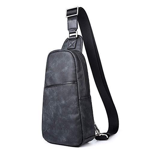 Borstzak heren kleine rugzak schoudertas taille tas waterdichte stof rugzak, zwart Fashion tas JYT