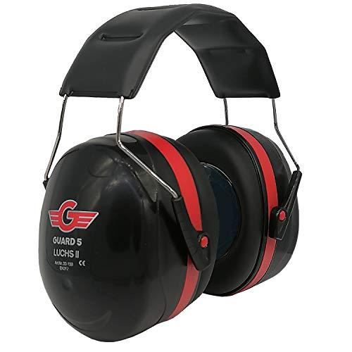 GUARD 5 - Protección auditiva LUCHS II - Protección auditiva ajustable - Protección auditiva óptima para una máxima amortiguación en caso de ruido.