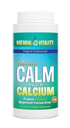 Natural Vitality, Natural Calm Plus Calcium, Original (Unflavored), 16 oz (454 g)