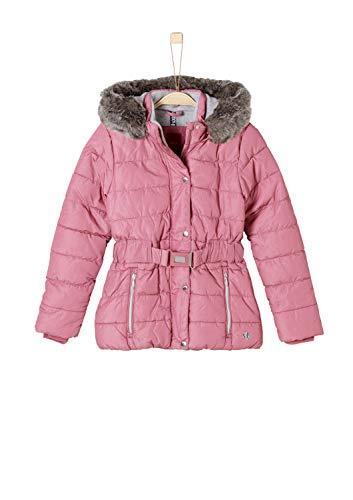 s.Oliver Junior Mädchen 73.809.51.2456 Jacke, Pink (Dark Pink AOP 43b6), 176 (Herstellergröße: XL)