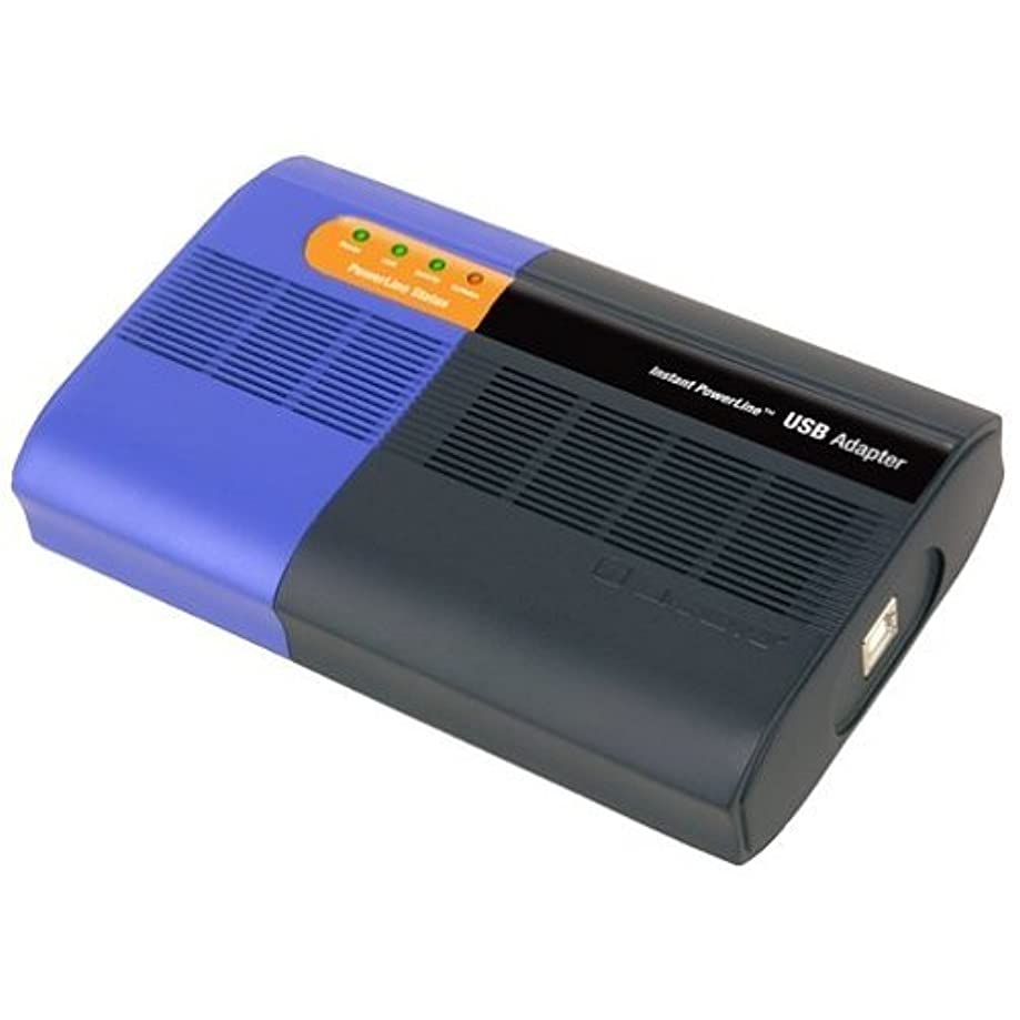 Cisco-Linksys PLUSB10 Instant PowerLine USB Adapter