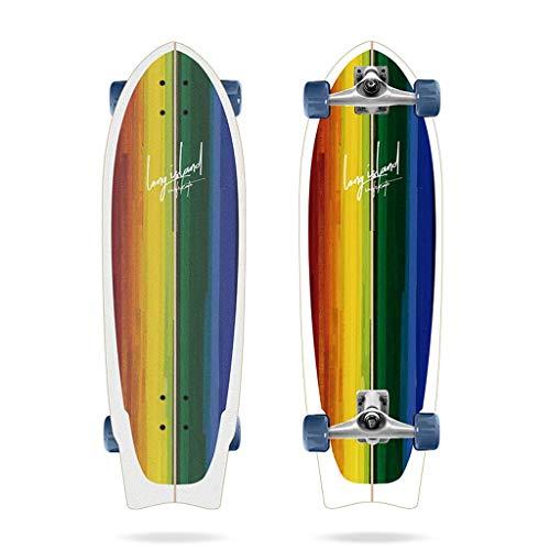 Long Island Kuala 31', Complete Surfskates Unisex Adulto, Multicolore, Taglia Unica