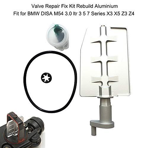 KKmoon Auto Ventil Aluminium Reparatur Set Reparatursatz für BMW DISA M54 3.0 ltr 3 5 7er X3 X5 Z3 Z4