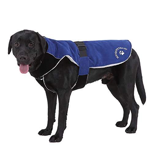CHIYEEE Hond Jas Huisdier Outdoor Indoor Activiteiten Jas Waterdichte Winddicht Reflecterende Koud Weer Winter Vest voor Grote Hond S