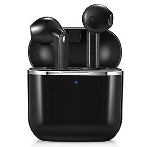 yobola Cuffie Bluetooth, Auricolari Bluetooth 5.1 con Stereo HiFi, Cuffie Wireless con Microfono, Cuffiette Bluetooth…