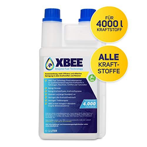 XBEE ALL FOR ONE Additiv für Benzin, Heizöl und Diesel | nur 1l für 4.000l Kraftstoff I Dieselpest Schutz I Kraftstoffsystem- und Motorenreiniger