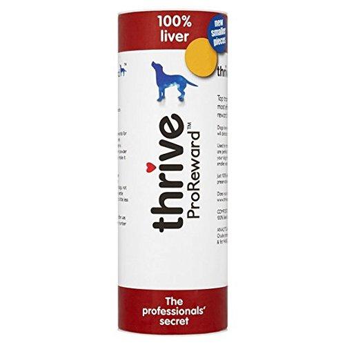Prospérer ProReward 100% de foie de chien TRAITE 60 g