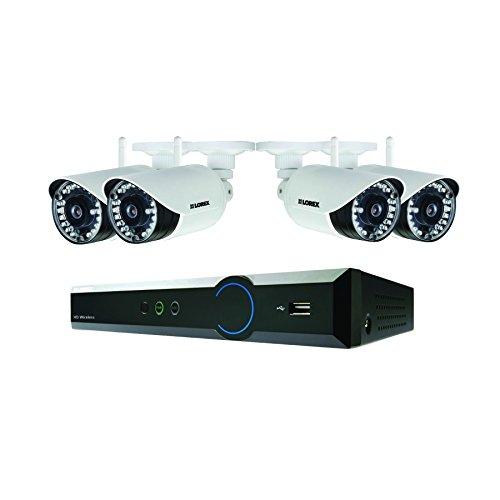 Lorex 1080P HD CCTV 1TB Network PoE Bundle con 4 ingressi / 4 telecamere Bullet