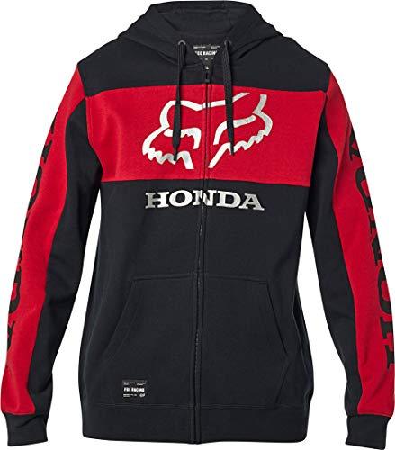 Fox Sudadera Honda Zip - Algodón Hombre Talla: Large
