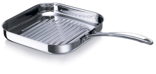 Beka Chef Sarten para Asar Acero Inoxidable 26,5 cm