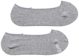 カバーソックス ラソックス rasox ベーシック?カバー #BA151CO01 日本製 靴下 レディース 浅履き S 22-24cm グレー杢 800