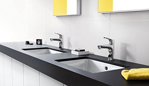 Hansgrohe – Einhebel-Waschtischarmatur, mit Zugstangen-Ablaufgarnitur, CoolStart, Chrom, Serie Focus 100 - 3