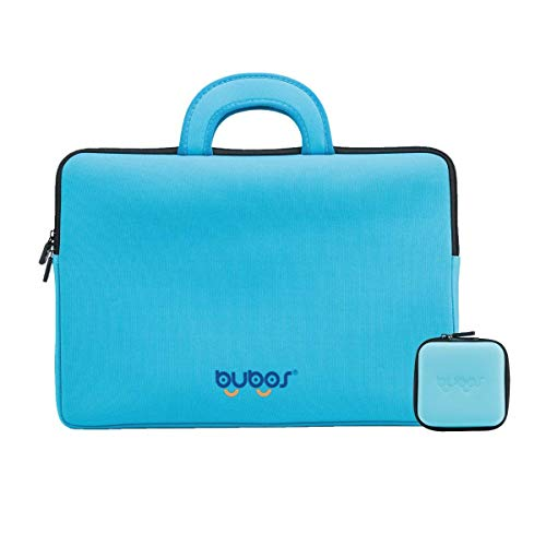 BUBOS 14-15.4 Inch Laptop Sleeve with Handle,Ultra-thin waterproof Computer Carrying Bag Compatible with MacBook Pro 15'/Surface Book,Dell XPS 15 /HP Pavilion 14/14' Lenovo Yoga