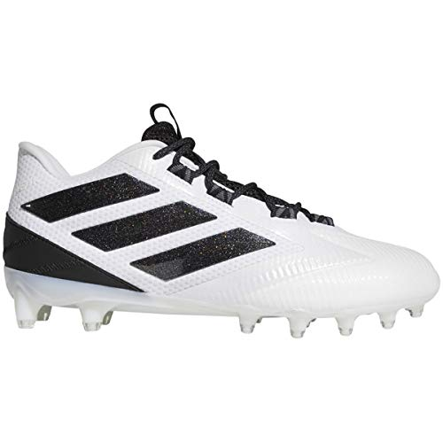 adidas Freak Carbon Low Cleat - Balón de fútbol para hombre, Blanco (White-core Black), 43 EU