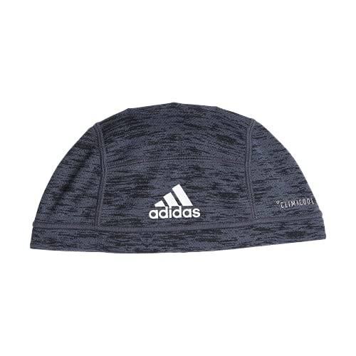 adidas Unisex Football Skull Cap, Black Spacedye Print, ONE SIZE