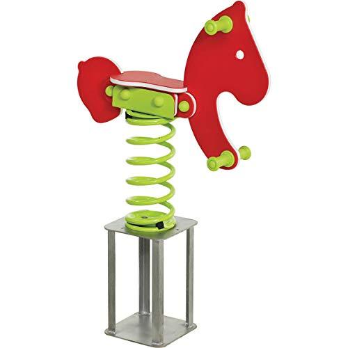 Unbekannt Federwippe Pony