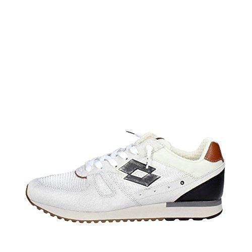 Lotto Leggenda S8840 Sneakers Homme Suède/tissu Blanc Blanc 46