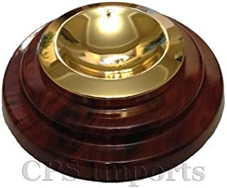 Walnut Grand Piano Caster Cups - 5.5 inches (Set of 3)