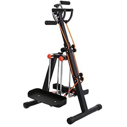 GFDDZ Cross-Trainer mit Widerstandsband, Air Walker-Fußpedal-Trainingsgerät, vertikaler und horizontaler Schwenkbewegung für Arm, Bein und Heim-Fitnessgeräte für Senioren und ältere Menschen