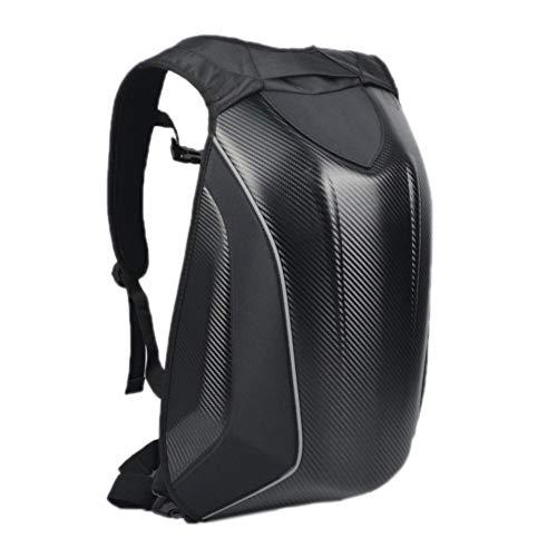Motorrad Hardcase Tasche Fahrradrucksack Motorrad Carbon Racing Rucksack wasserdichte Gepäcktaschen